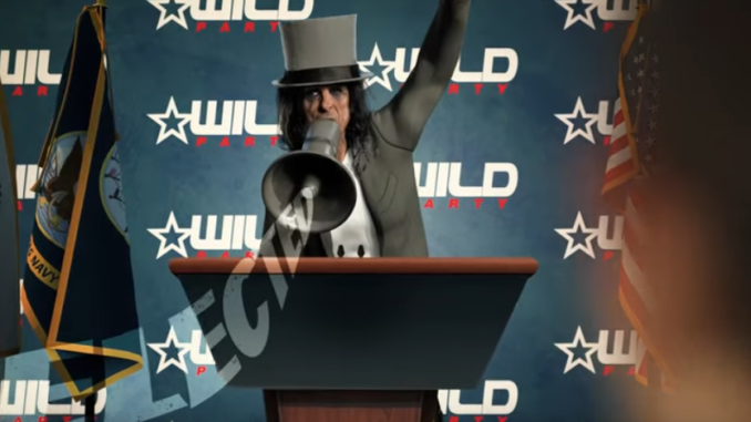 """Alice Cooper shares new lyric video for his political satire """"Elected"""" - The Pit"""